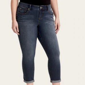 Torrid Premium Stretch Cropped Skinny Jeans